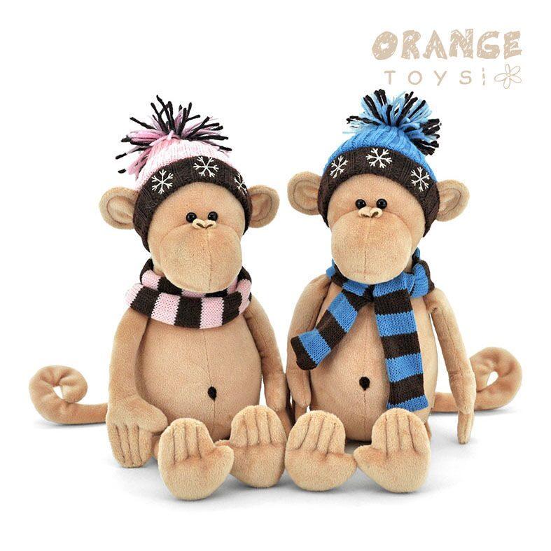 Мягкие обезьянки своими руками к новому году