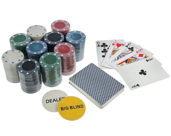 Покер: металлическая коробка