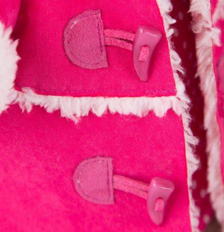 Зайка ми в платье и розовой дубленка